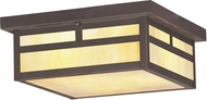 Livex 2146-07 Montclair Mission Craftsman Bronze Ceiling Light Fixture