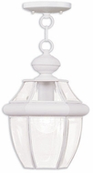 Livex 2152-03 Monterey White Pendant Hanging Light