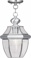 Livex 2152-91 Monterey Brushed Nickel Drop Ceiling Lighting