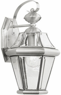 Livex 2161-91 Georgetown Brushed Nickel Wall Sconce