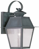 Livex 2162-61 Mansfield Charcoal Lighting Sconce