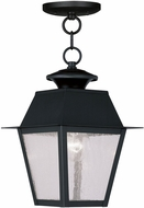 Livex 2164-04 Mansfield Black Ceiling Light Pendant