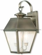 Livex 2165-29 Mansfield Vintage Pewter Lighting Wall Sconce