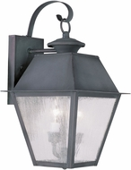 Livex 2165-61 Mansfield Charcoal Wall Lighting Sconce