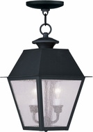Livex 2167-04 Mansfield Black Ceiling Pendant Light