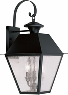 Livex 2168-04 Mansfield Black Wall Mounted Lamp