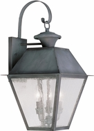 Livex 2168-61 Mansfield Charcoal Wall Light Sconce