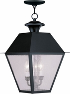 Livex 2170-04 Mansfield Black Drop Lighting Fixture