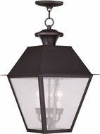 Livex 2170-07 Mansfield Bronze Pendant Lighting