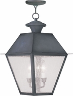 Livex 2170-61 Mansfield Charcoal Pendant Light