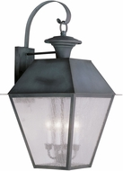 Livex 2172-61 Mansfield Charcoal Wall Lamp