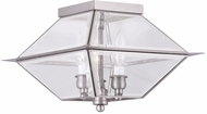 Livex 2185-91 Westover Antique Brass Outdoor Home Ceiling Lighting