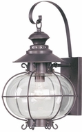Livex 2223-07 Harbor Nautical Bronze Outdoor Wall Mounted Lamp