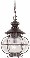 Livex 2225-07 Harbor Nautical Bronze Pendant Lighting Fixture