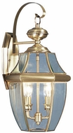 Livex 2251-01 Monterey Antique Brass Wall Mounted Lamp