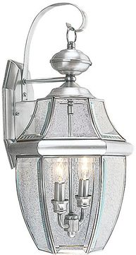 Livex 2251-91 Monterey Brushed Nickel Wall Light Sconce