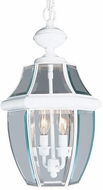Livex 2255-03 Monterey White Pendant Hanging Light