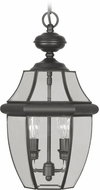 Livex 2255-04 Monterey Black Hanging Light Fixture