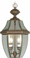 Livex 2255-07 Monterey Bronze Drop Lighting