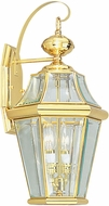 Livex 2261-02 Georgetown Polished Brass Wall Sconce