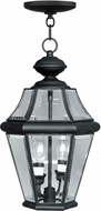 Livex 2265-04 Georgetown Black Ceiling Pendant Light