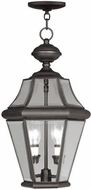 Livex 2265-07 Georgetown Bronze Drop Ceiling Light Fixture