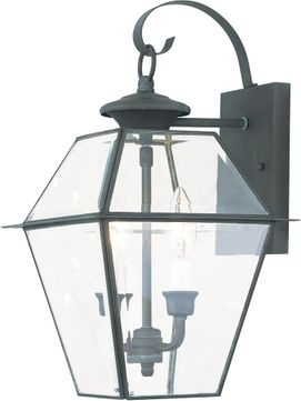 Livex 2281-61 Westover Charcoal Wall Sconce Lighting