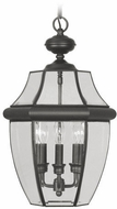 Livex 2355-04 Monterey Black Pendant Lighting Fixture