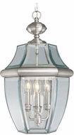 Livex 2355-91 Monterey Brushed Nickel Hanging Pendant Lighting