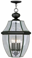 Livex 2357-04 Monterey Black Pendant Hanging Light