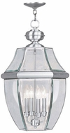 Livex 2357-91 Monterey Brushed Nickel Drop Lighting