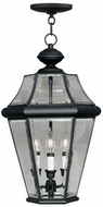 Livex 2365-04 Georgetown Black Ceiling Pendant Light
