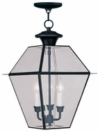 Livex 2385-04 Westover Black Pendant Light