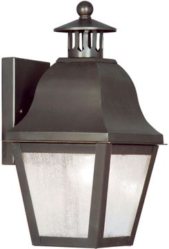 Livex 2550-07 Amwell Traditional Bronze Wall Sconce Light