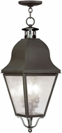 Livex 2557-07 Amwell Traditional Bronze Hanging Light Fixture