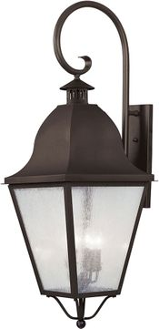 Livex 2559-07 Amwell Traditional Bronze Wall Sconce Lighting