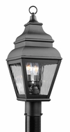 Livex 2603-04 Exeter Black Exterior Pole Lighting Fixture