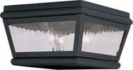 Livex 2611-04 Exeter Black Ceiling Lighting Fixture