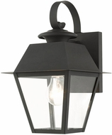 Livex 27212-04 Mansfield Black Outdoor 13  Wall Sconce Light