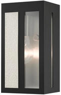 Livex 27411-04 Lafayette Contemporary Black Outdoor 9 Sconce Lighting