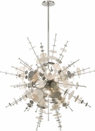 Livex 40079-05 Circulo Contemporary Polished Chrome 50  Hanging Pendant Light