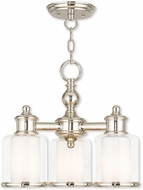 Livex 40203-35 Middlebush Modern Polished Nickel Chandelier Light