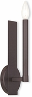 Livex 40241-07 Alpine Contemporary Bronze Wall Sconce Lighting