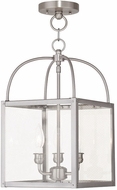 Livex 4037-91 Milford Brushed Nickel Foyer Light Fixture