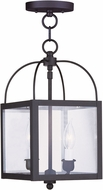 Livex 4041-04 Milford Black Foyer Lighting