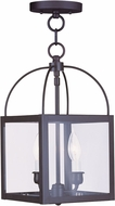 Livex 4041-07 Milford Bronze Foyer Light Fixture