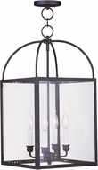 Livex 4042-04 Milford Black Entryway Light Fixture