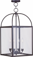 Livex 4042-07 Milford Bronze Foyer Lighting