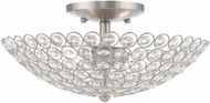 Livex 40443-91 Cassandra Brushed Nickel 13  Home Ceiling Lighting