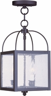 Livex 4045-04 Milford Black Foyer Lighting Fixture